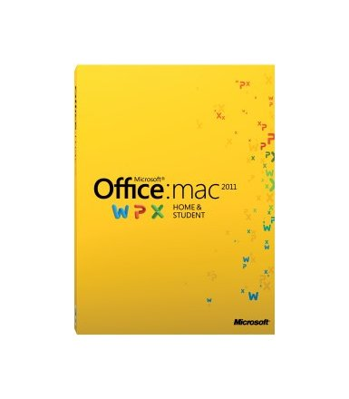 Microsoft Office Mac Home & Student 2011 PL Medialess      GZA-00289
