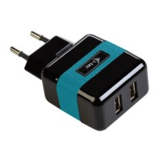 i-tec USB Power Charger 2xPort 2.1A Phone/Tablet black