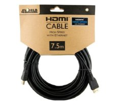 4world 4W Kabel HDMI High Speed z Ethernetem  (v1.4), 7.5m
