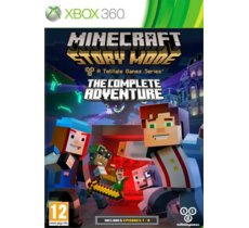 Techland Minecraft Story Mode The Complete Adventure X360
