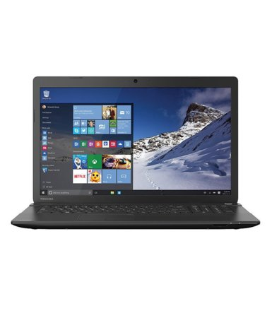 Toshiba Satellite C75D-B7240  WIN 10/A8-6410/8GB/750GB/DVD/AMD RadeonR4/17.3 Black Repack