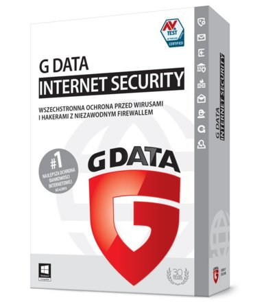 G DATA InternetSecurity 2015 2PC 2 Lata BOX