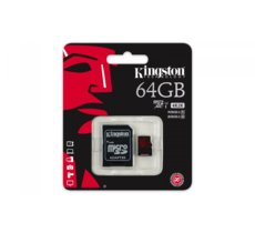 Kingston microSDXC 64GB UHS-I(U3) 90/80MB/s