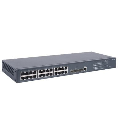 HP 5120-24G SI Switch 24x1GbE 4xSFP 1xConsole JE074A