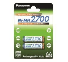 Panasonic AKUMULATORY NI-MH 2ST 2,500 MAH HIGH CAPACITY