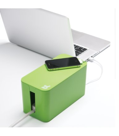 BlueLounge CableBox mini organizer kabli zielony