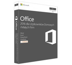 Microsoft Office Mac 2016 Home & Business PL 32-bit/x64 P2  W6F-00851. Stare SKU: W6F-00525