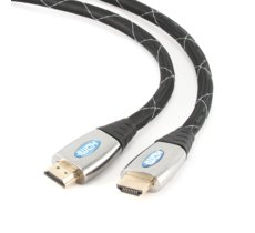 Gembird Kabel HDMI-HDMI v1.4 3D TV High Speed Ethernet 1.8M PREMIUM GOLD (pozłacane końcówki)