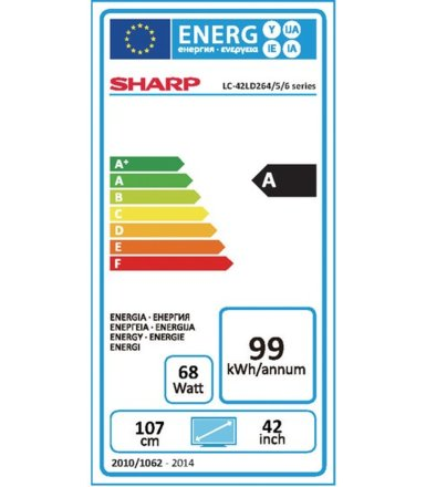 Sharp 42'' LED             LC-42LD264ES