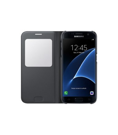 Samsung S View Cover do Galaxy S7 Black