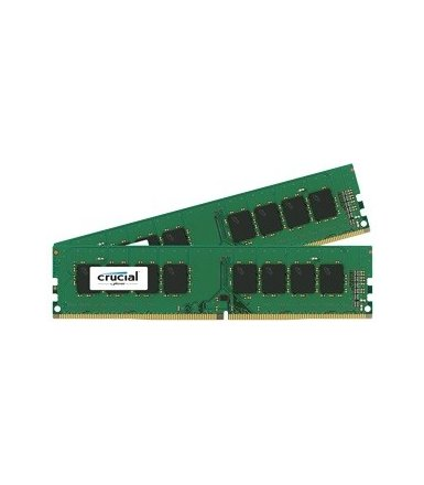 Crucial DDR4 32GB/2400(2*16GB) CL17 DIMM 288pin