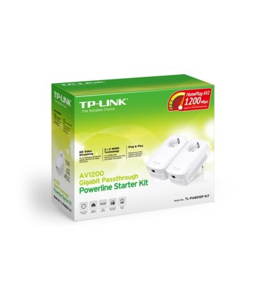 TP-LINK PA8010P Power Line 1200Mbps 1x1GB