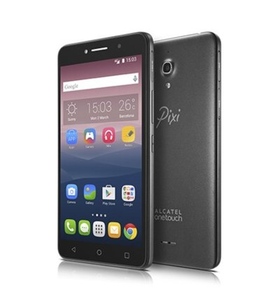 Alcatel  PIXI 4 (6) BLACK DUAL SIM