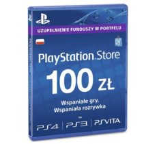 Sony Playstation Live Cards Hang 100 PLN