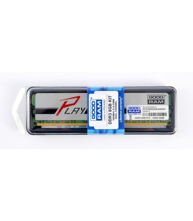 GOODRAM DDR3 8GB/1600(2*4GB) PLAY Silver 8-8-8-28 512*8