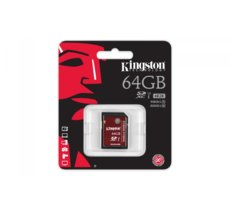 Kingston SDHC 64GB Class10 UHS-I U3 Card 90/80 MB/s