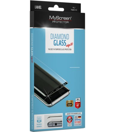 MyScreen Protector  Diamond Edge 3D MSP do Samsung S9 G960 Czarne
