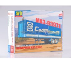 MAZ-93971 Semitrailer with Tent model kit