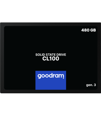 GOODRAM Dysk CL100 G3 480GB  SATA3 2,5