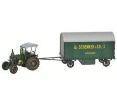 Lanz Ackerluft with Trailer Schenker