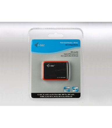 i-tec USB 2.0 All-in-On e Int.Card Reader black