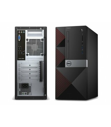 Dell Vostro 3667MT Win10Pro i3-6100/500GB/4GB/DVDRW/Integrated/MS116/KB216/3Y NBD