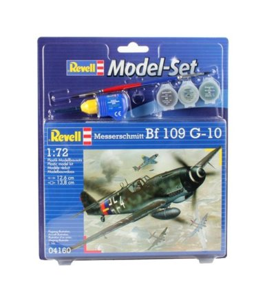 REVELL model set Messers cmitt BF-109