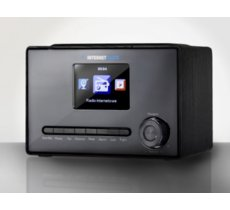 "ART Radio internetowe X100 LCD kolor 3,2"" czarne"