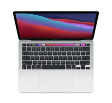Apple MacBook Pro 13: Apple M1 chip with 8 core CPU and 8 core GPU, 512GB SSD - Silver