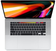 Apple MacBook Pro 16 Touch Bar: 2.3GHz i9/16GB/1TB/RP5500M - Silver