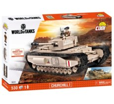 World of Tanks 530 elementów Churchill I