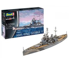 Model plastikowy Statek HMS King George V