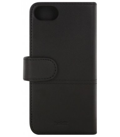 Holdit Selected walletcase Apelviken skóra czarny iPhone 7 8