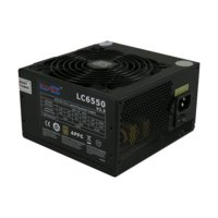 LC-POWER ZASILACZ 550W LC6550 V2.3 80+ Bronze 120 mm 4 x SATA 4 x PATA 1x PCIe BLACK Active PFC