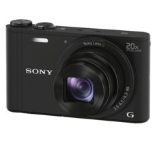 Sony DSC-WX350 black 18,2 Mpix, 20 x OZ, full HD