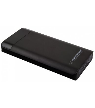 Esperanza POWER BANK 17400MAH PHOTON CZARNY