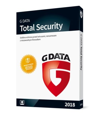 G DATA TotalProtection Kontynuacja 2PC 1Y BOX
