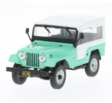 Jeep CJ-5 1963 (light green/white)
