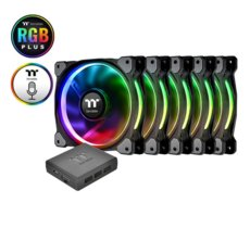 Thermaltake Riing 14 RGB Plus TT Premium Edition 5 Pack (5x140mm, 500-1400 RPM)