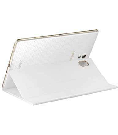 "Samsung Etui w formie ""book cover"" do GALAXY Tab S 8.4 AMOLED / Klimt (T700/T705) - białe"