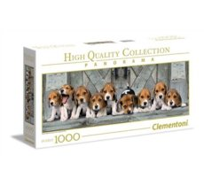 1000 elementów Panorama High Quality Beagles