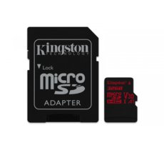 Kingston microSD  32GB Canvas React 100/70MB/s adapter U3 UHS-I V30 A1