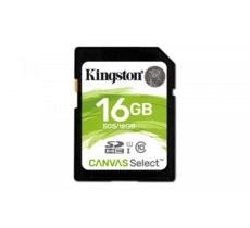 Kingston SD  16GB Canvas Select 80/10MB/s