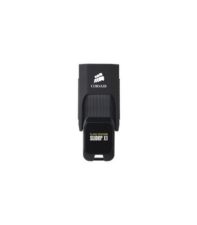 Corsair VOYAGER Slider X1 64GB USB3.0 Read 130MBs, Capless Design,      Plug and Play