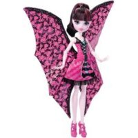 Mattel MONSTER HIGH Draculaura Wampiskrzydła 2w1