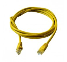 ART Patch cord 3m żółty UTP 5e