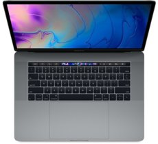 Apple MacBook Pro 15 Touch Bar, 2.6GHz 6-core 9th i7/32GB/256GB SSD/RP555X - Space Grey MV902ZE/A/R1