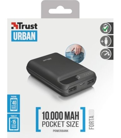 Trust Forta HD Powerbank 10000