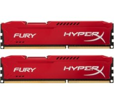 HyperX DDR3 Fury 16GB/ 1600 (2*8GB) CL10 RED