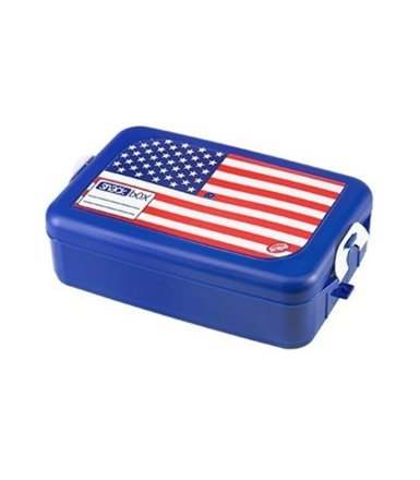 QUISELLE SNACK BOX 1L flaga USA